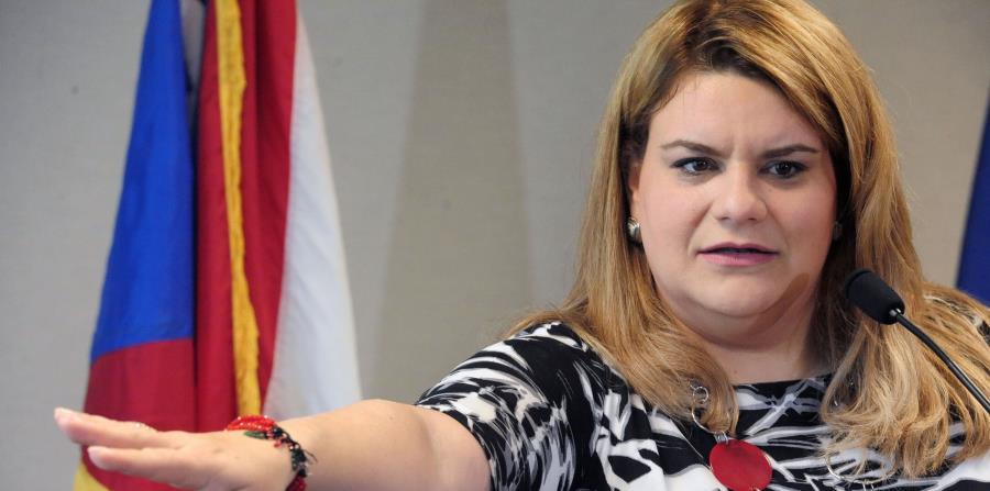 La comisionada González realizó el anuncio hoy, lunes. (horizontal-x3)