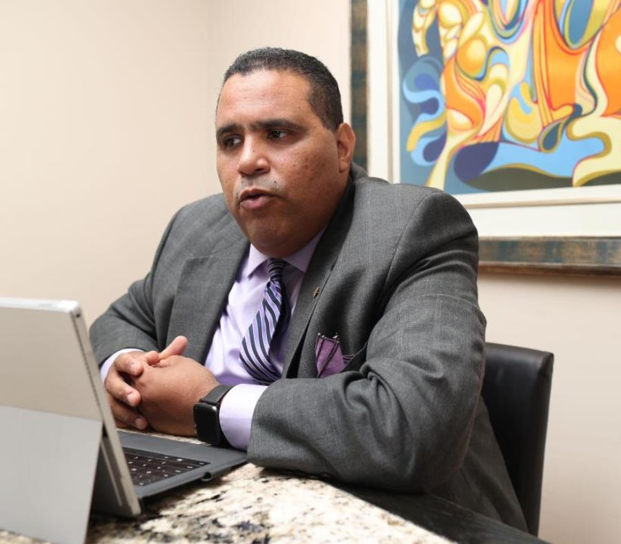 The president of the Chamber of Commerce, Kenneth Rivera, participated in meetings in Washington with advisers of federal senators. (GFR Media) (semisquare-x3)