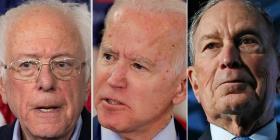Sanders, Biden y Bloomberg podrían venir hacer campaña a la isla
