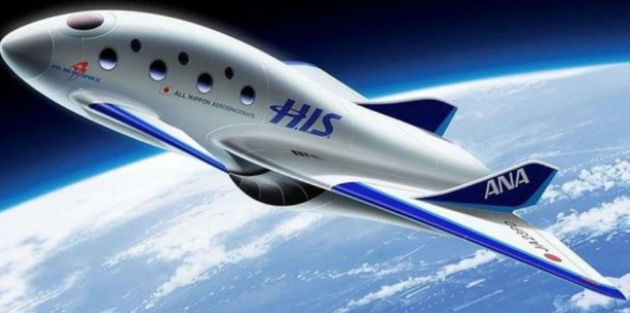 Desarrollan en Japón una nave espacial para lanzar vuelos comerciales (horizontal-x3)