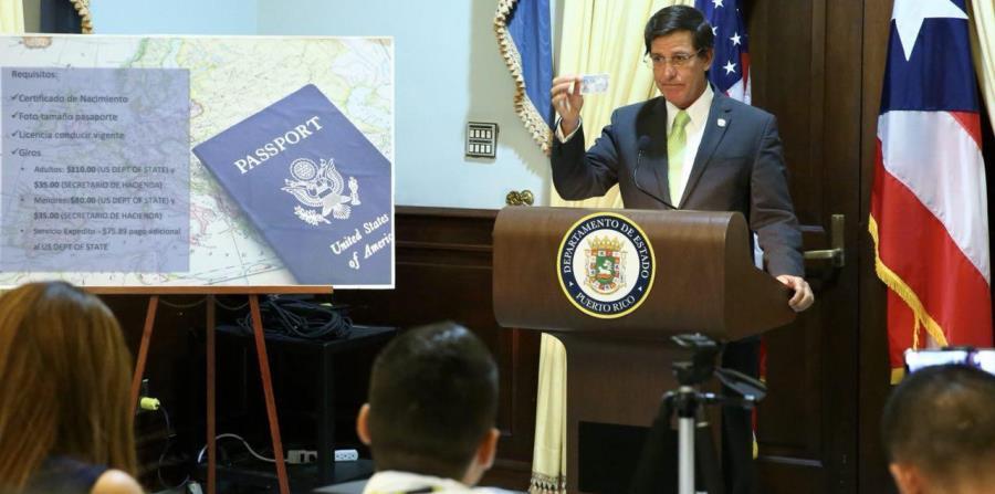 El secretario de Estados, Luis Rivera Marín, ofreció los detalles del documento de identificación. (Suministrada) (horizontal-x3)