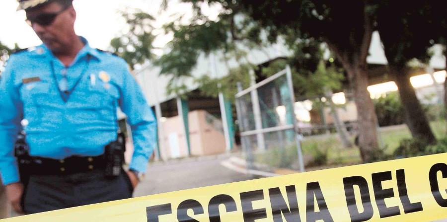 El asesinato se reportó a eso de las 6:00 a.m. de hoy. (GFR Media) (horizontal-x3)