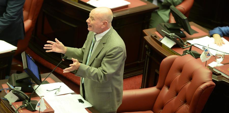 El senador Larry Seilhamer aseguró que las dudas con el plan de reorganización se pueden aclarar en la discusión de su ley habilitadora. (GFR Media) (horizontal-x3)