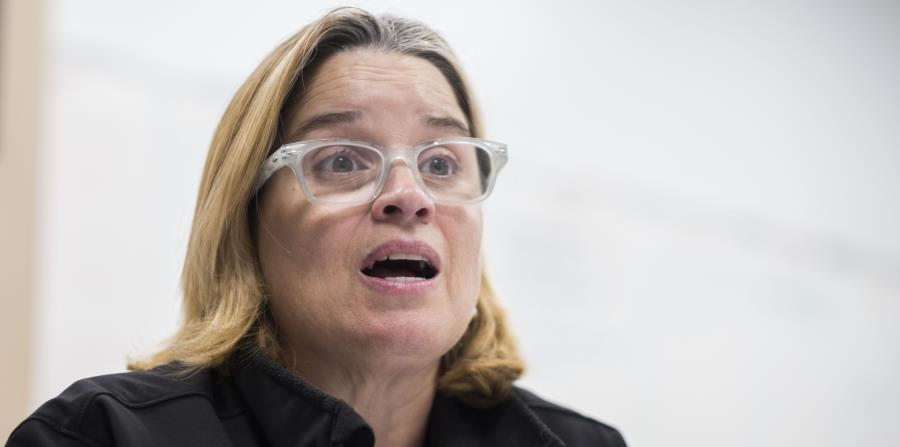 La alcaldesa de San Juan, Carmen Yulín Cruz (horizontal-x3)