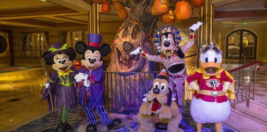 Disney Cruise Line presenta Halloween en alta mar. (Suministrada)