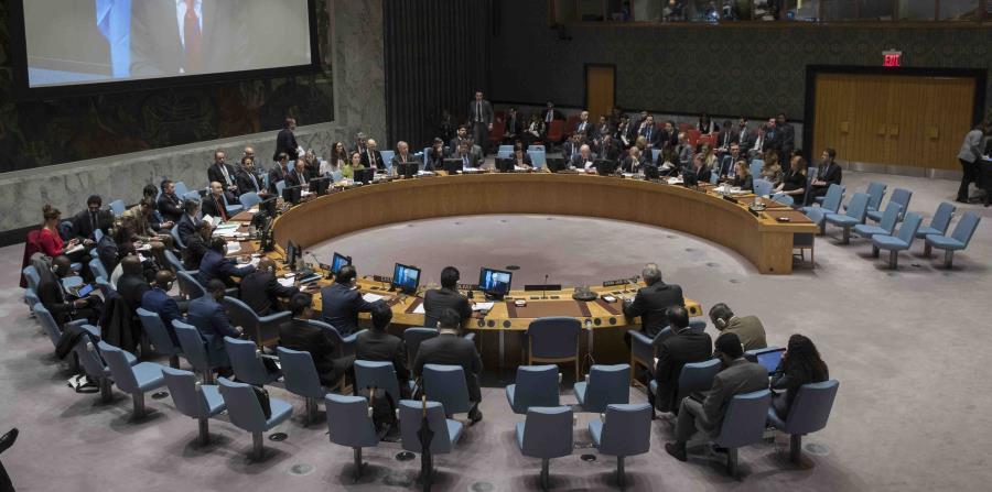 Según reportes periodísticos desde la ONU, los diplomáticos cubanos golpearon mesas e hicieron ruido constante para impedir que se escucharan los ponentes. (AP / Mary Altaffer) (horizontal-x3)