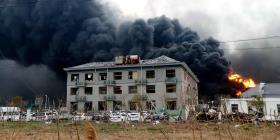 Al menos 47 muertos deja la explosión de una fábrica en China