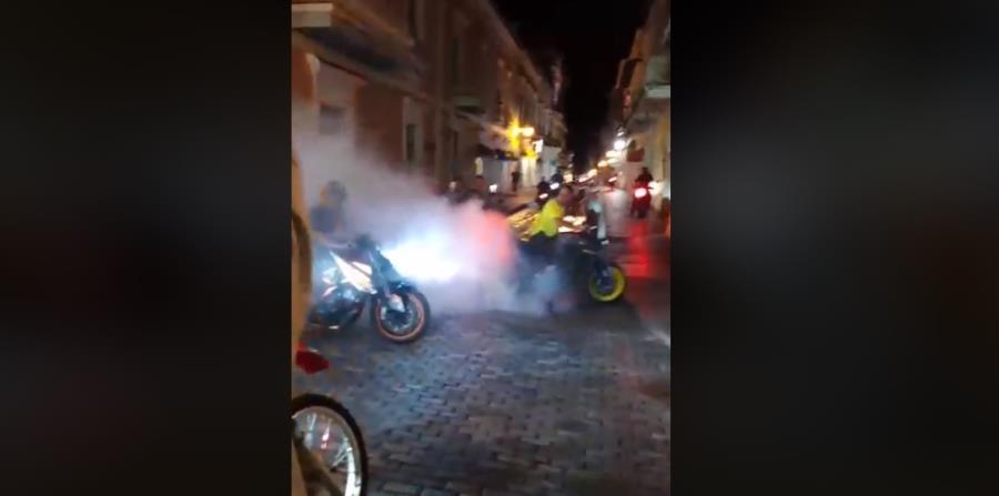 Motoristas llegan al Viejo San Juan en protesta contra Rosselló