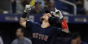 Christian Vázquez aporta un jonrón en la victoria de los Red Sox sobre los Rays