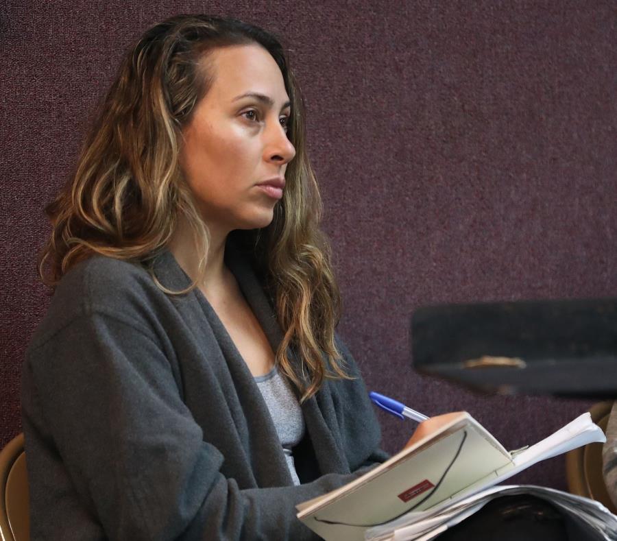La producción de la serie recurrió a Kisha Tikina Burgos para tener la voz femenina que ofreciera balance al trabajo. (semisquare-x3)