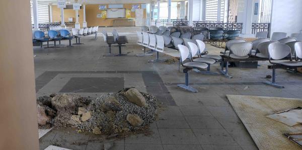 Evidente el deterioro en el antiguo terminal de lanchas en Fajardo