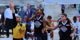 Las escuelas Federico Asenjo y Ramón Power ganan el primer torneo 3x3 del Capitolio
