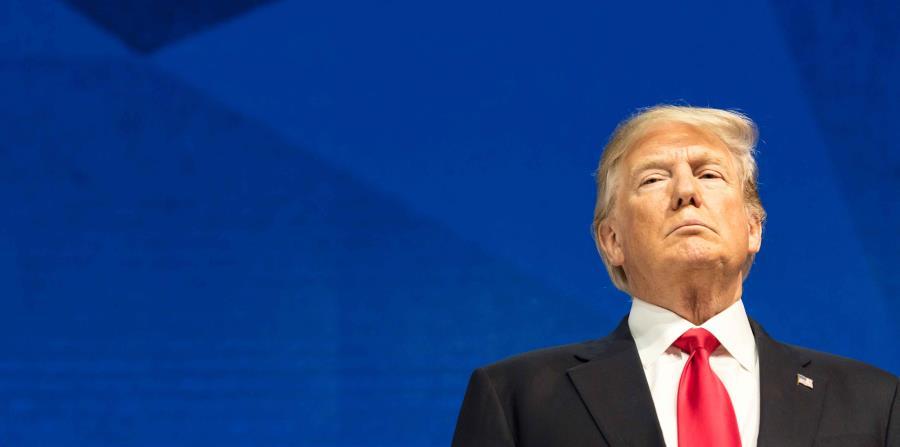 El presidente de Estados Unidos, Donald Trump (horizontal-x3)