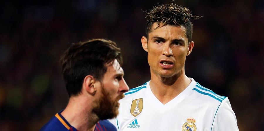 Rusia 2018 podría ser el último mundial de las dos leyendas del fútbol Messi y Cristiano Ronaldo. (EFE) (horizontal-x3)