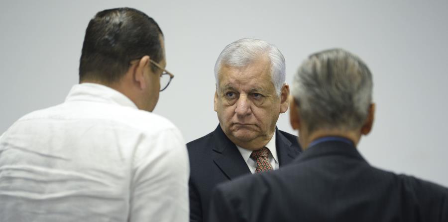 El exalcalde de Guaynabo, Héctor O'Neill, asistió el febrero pasado a una vista judicial del caso de hostigamiento sexual que le imputan. (GFR Media) (horizontal-x3)