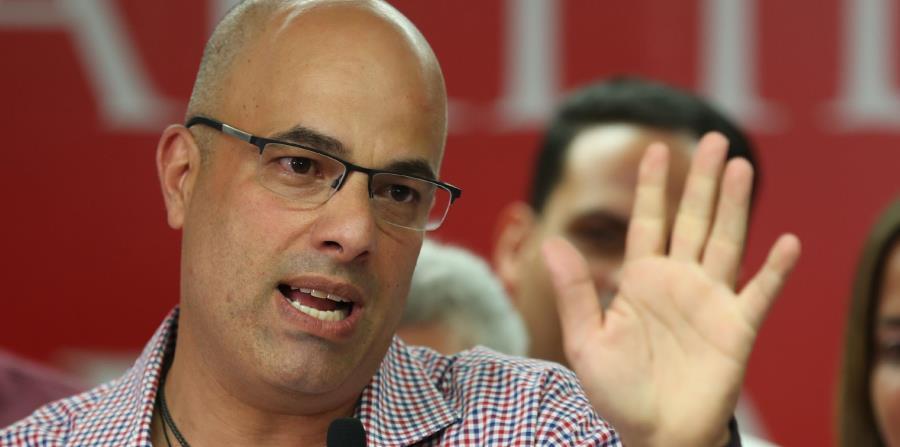 En la foto, Héctor Ferrer, presidente del Partido Popular Democrático. (horizontal-x3)