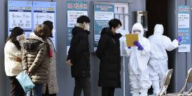 Reportan la primera muerte por coronavirus en Corea del Sur