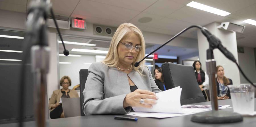 Tras ser fiscal por 24 años y alcanzar el año pasado la silla más alta del Departamento de Justicia, Wanda Vázquez Garced enfrentará hoy   denuncias criminales. (horizontal-x3)