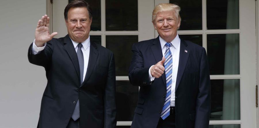 Donald Trump recibe al presidente panameño en la Casa Blanca (horizontal-x3)