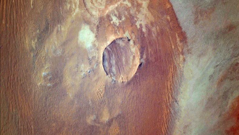 Cráter de meteoro llamado