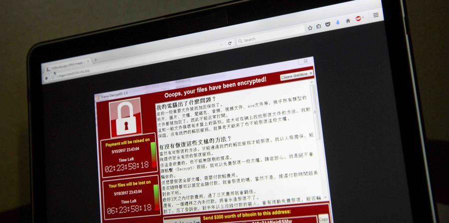 las computadoras mostraban una ventana que reclamaba pagos de $300 para liberar los archivos (horizontal-x3)