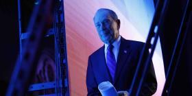 Michael Bloomberg logra entrar al próximo debate demócrata en Las Vegas