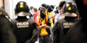Las protestas contra la sentencia a los líderes catalanes deja al menos 56 heridos