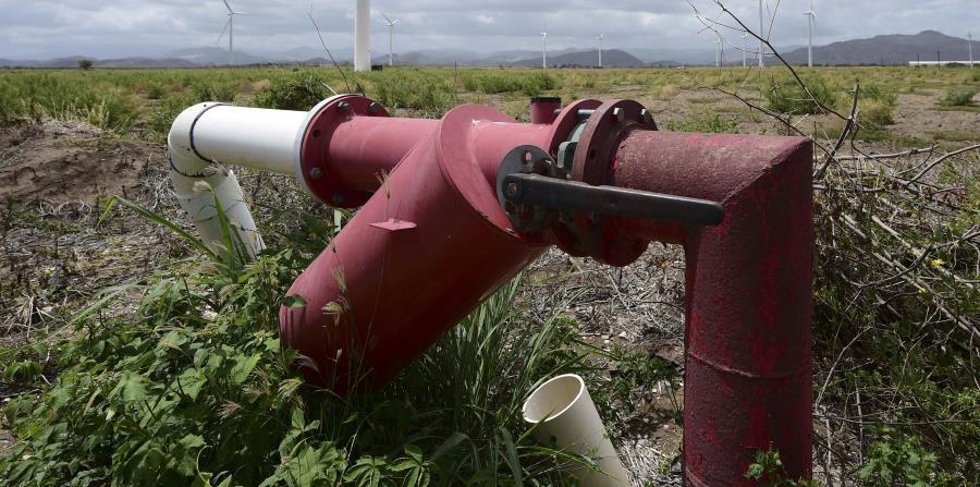Imagen de un pozo que extrae agua del Acuífero del Sur. (horizontal-x3)