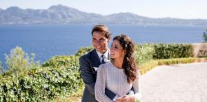 Rafael Nadal distribuye las primeras fotos de su boda