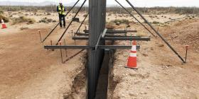 Estados Unidos usa fondos militares para levantar barreras fronterizas