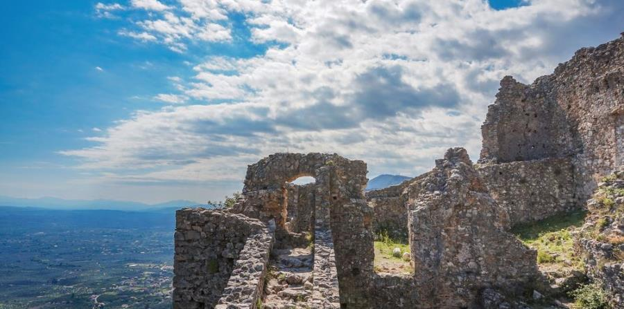 Mystras, en Grecia.