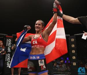 Anuncian rival de Amanda Serrano para su pelea de artes marciales mixtas en la isla