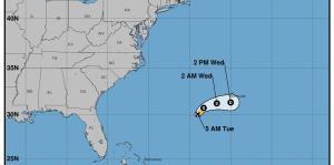Andrea traerá un poco de humedad para Puerto Rico