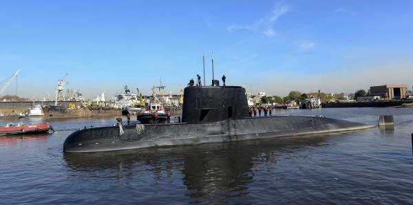 Ésta es la historia del submarino argentino desaparecido