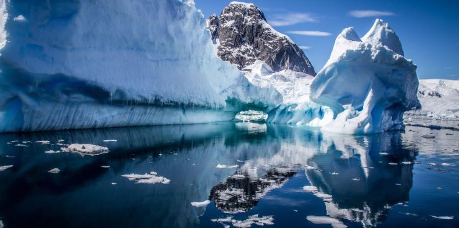 Antártida en el Polo Sur