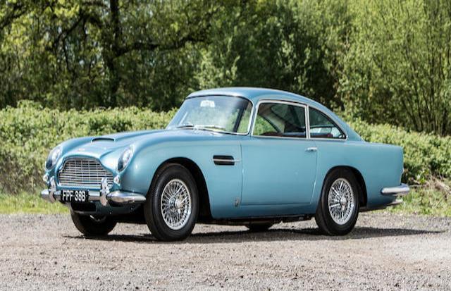El Aston Matin es del 1964 (horizontal-x3)