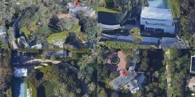 Así se ve desde el aire la mansión de $165 millones de Jeff Bezos