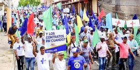 Multitudinaria marcha en Dominicana contra la corrupción y una nueva reelección de Medina
