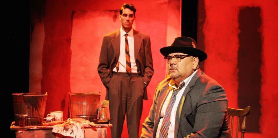 Junior Álvarez interpretando a Mark Rothko