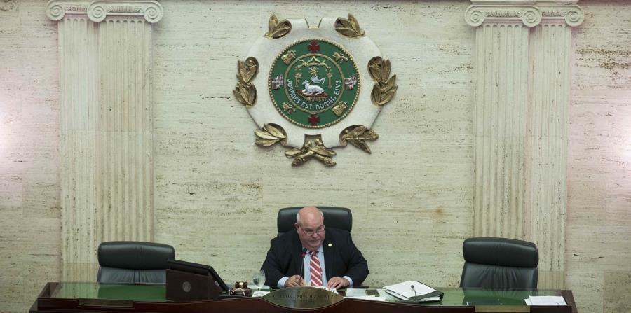 El presidente de la Cámara, Carlos