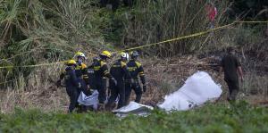 Sube el drama y la cifra de muertos en Cuba tras accidente aéreo