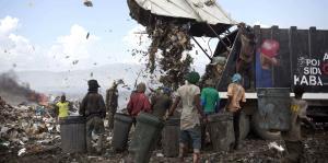 El infierno de los chatarreros en Haití