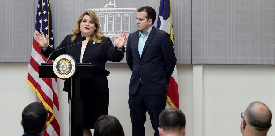 La comisionada Jenniffer González prevé que finalmente someterá a finales de este mes su nuevo proyecto a favor de la admisión de Puerto Rico como estado 51. (horizontal-x3)