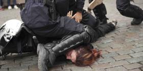 Se torna violenta una protesta de chalecos amarillos en Bélgica
