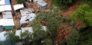 Al menos 9 muertos deja un derrumbe en Colombia