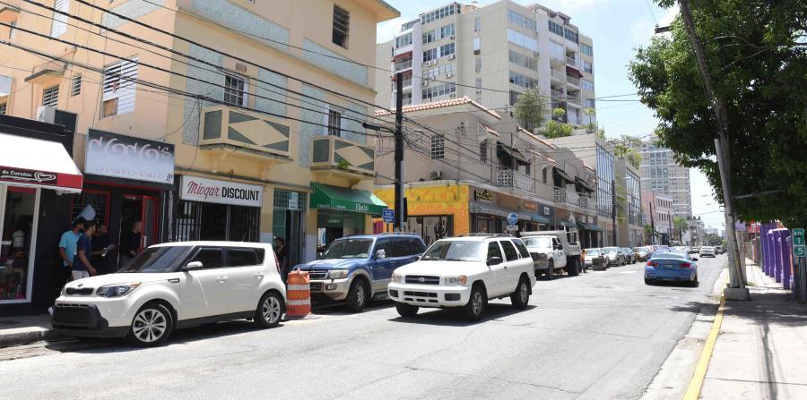La calle Loíza ha experimentado un aumento en la actividad delictiva. (GFR Media) (horizontal-x3)