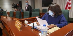 María Milagros Charbonier asegura que proyecto sobre veredictos tiene los votos para ser aprobado