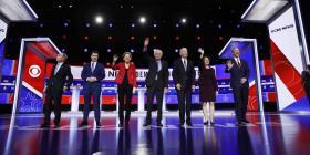 Candidatos demócratas a la Casa Blanca coinciden en legalizar la marihuana