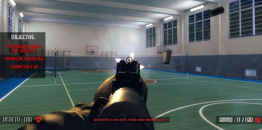 Críticas en EE.UU. por videojuego que simula un tiroteo en un colegio (horizontal-x3)