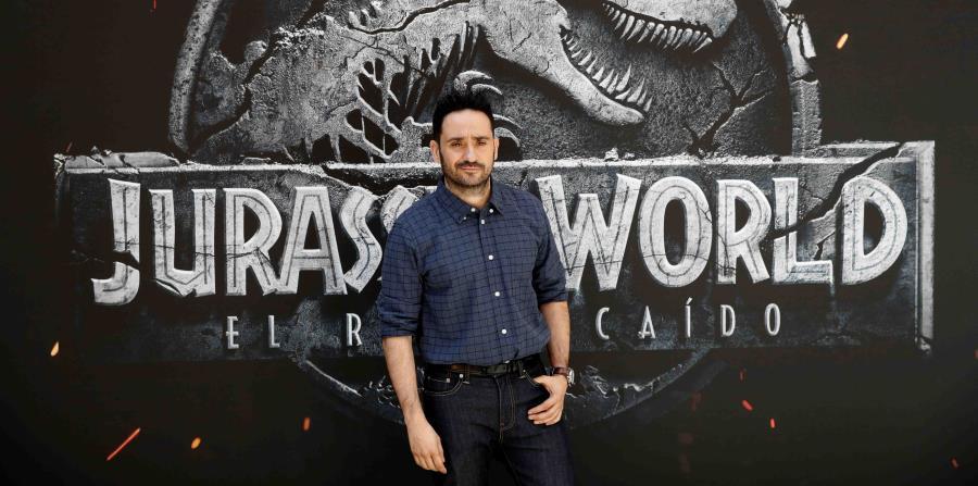 """El cineasta Juan Antonio Bayona debuta en la primera división de las superpro-ducciones de Hollywood con """"Jurassic World: el reino caído"""", quinta entrega de la saga iniciada por  Spielberg. (EFE \ Emilio Naranjo) (horizontal-x3)"""
